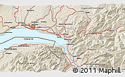 Shaded Relief 3D Map of Port-Valais