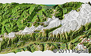 Satellite 3D Map of Grindelwald