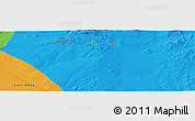 """Political Panoramic Map of the area around 46°26'14""""N,97°49'29""""E"""