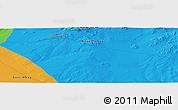 Political Panoramic Map of Bayan Hongoriin