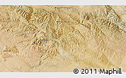 """Satellite 3D Map of the area around 46°26'14""""N,99°31'30""""E"""