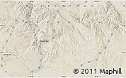 """Shaded Relief Map of the area around 46°26'14""""N,99°31'30""""E"""