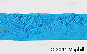 """Political Panoramic Map of the area around 46°26'14""""N,99°31'30""""E"""