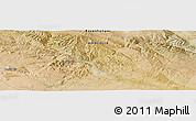 "Satellite Panoramic Map of the area around 46°26'14""N,99°31'30""E"