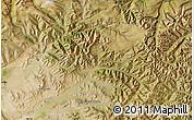 Satellite Map of Bayanhongor