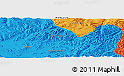 Political Panoramic Map of Darhan Guunii Hüryee