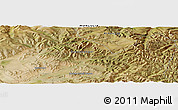 Satellite Panoramic Map of Darhan Guunii Hüryee