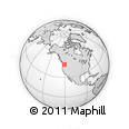 Outline Map of 541 Pomona Heights Rd, rectangular outline