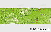 Physical Panoramic Map of Plumb