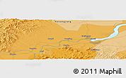 Political Panoramic Map of Jiamusi