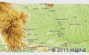 Physical 3D Map of Jurski Vrh