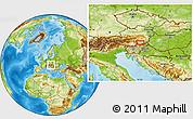 Physical Location Map of Jurski Vrh