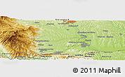Physical Panoramic Map of Jurski Vrh