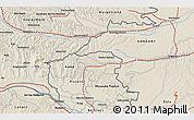 Shaded Relief 3D Map of Murska Sobota
