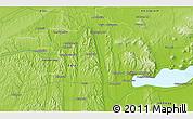 Physical 3D Map of Zalaegerszeg