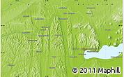 Physical Map of Sármellék