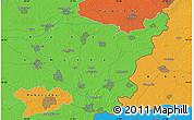 Political Map of Békéscsaba