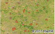 Satellite Map of Békéscsaba