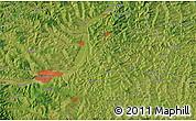Satellite Map of Cluj-Napoca