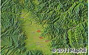 "Satellite Map of the area around 46°51'18""N,25°34'30""E"