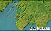 """Satellite Map of the area around 46°51'18""""N,53°28'30""""W"""