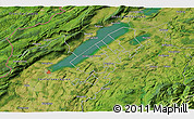 Satellite 3D Map of Les Geneveys-sur-Coffrane