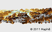 Physical Panoramic Map of Kriens