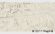 """Shaded Relief 3D Map of the area around 46°51'18""""N,98°40'30""""E"""