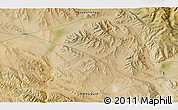 """Satellite 3D Map of the area around 46°51'18""""N,99°31'30""""E"""