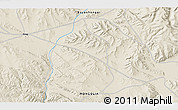 """Shaded Relief 3D Map of the area around 46°51'18""""N,99°31'30""""E"""