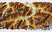 Physical 3D Map of Chur