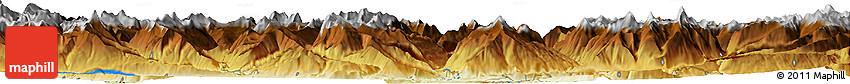 Physical Horizon Map of Chur