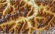Physical Map of Chur