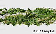 Satellite Panoramic Map of Chur