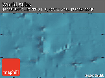 "Satellite Map of the Area around 46°9'26""S,173°28'29""E"