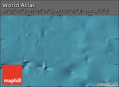 "Satellite Map of the Area around 46°9'26""S,174°19'29""E"