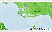 Political 3D Map of Invercargill