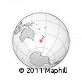 Outline Map of Tautuku, rectangular outline