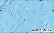 """Shaded Relief Map of the area around 46°34'35""""S,170°55'30""""E"""