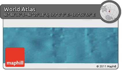 "Satellite Panoramic Map of the Area around 46°34'35""S,173°28'29""E"