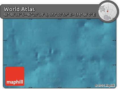 "Satellite Map of the Area around 46°34'35""S,174°19'29""E"