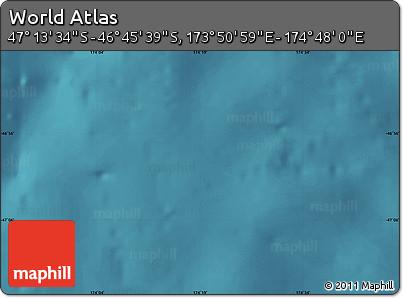 "Satellite Map of the Area around 46°59'36""S,174°19'29""E"