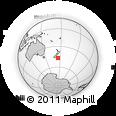 "Outline Map of the Area around 46° 59' 36"" S, 175° 10' 30"" E, rectangular outline"