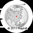 Outline Map of Bayshinta Hüryee, rectangular outline