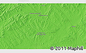 """Political 3D Map of the area around 47°16'15""""N,107°10'30""""E"""