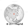 """Outline Map of the Area around 47° 16' 15"""" N, 107° 10' 30"""" E, rectangular outline"""