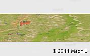 Satellite Panoramic Map of Qiqihar