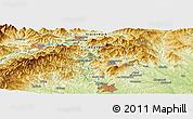 Physical Panoramic Map of Graz