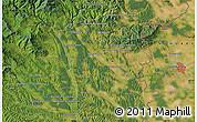 Satellite Map of Szombathely