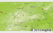 Physical 3D Map of Veszprém